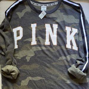 Victoria's Secret PINK Camouflage Crewneck